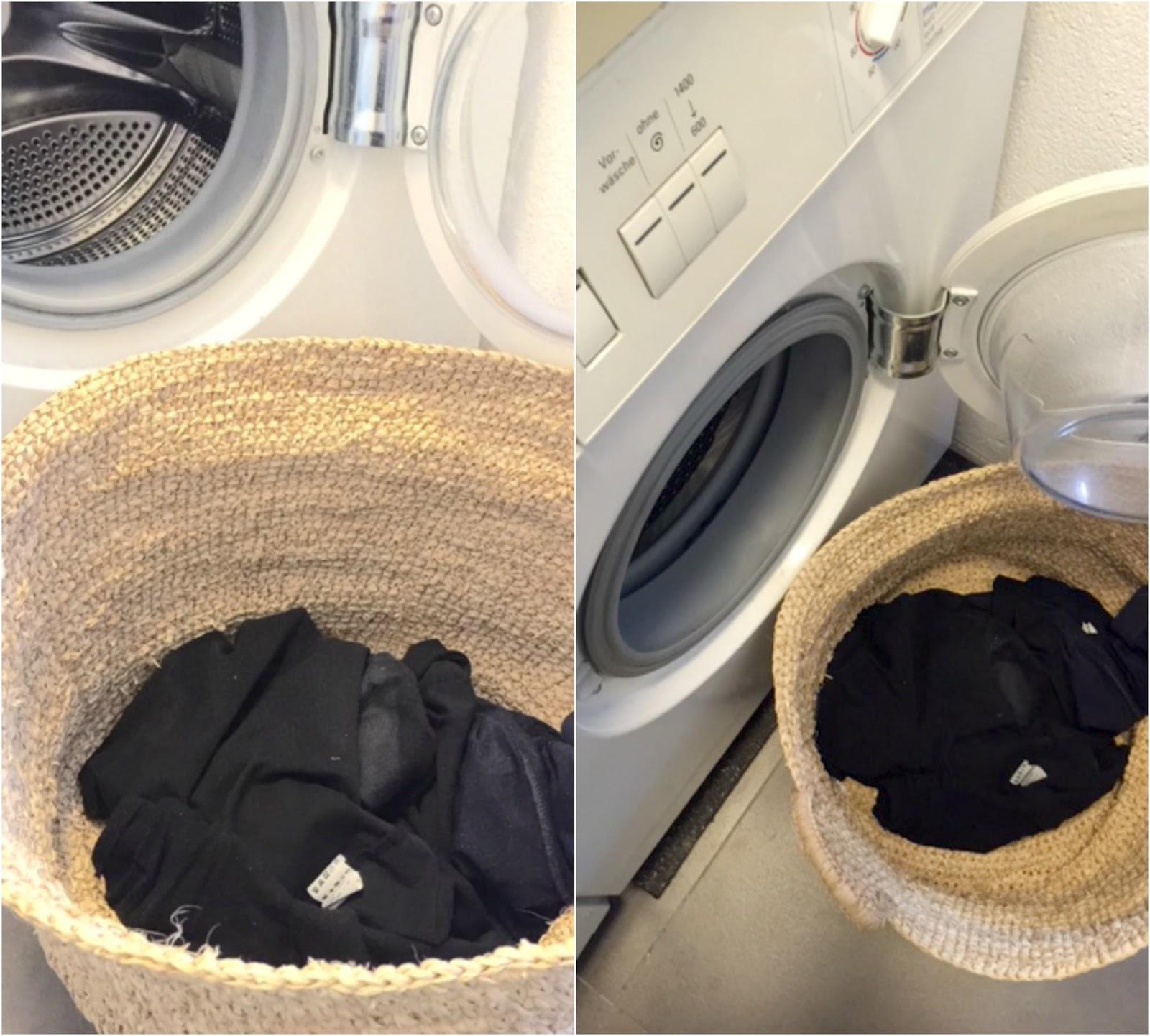 Der Vorteil beim täglichen Waschen: Mag kämpft nicht mit Wäschebergen