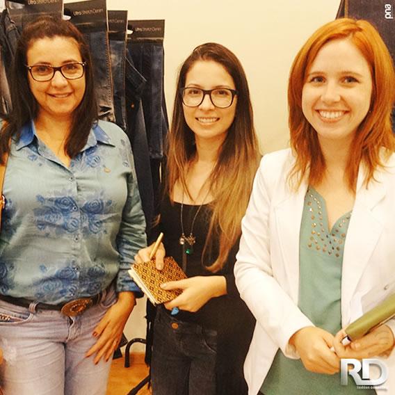 Equipe Nítido no Showroom da RDFashion Inverno 2016