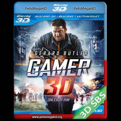 GAMER (2009) FULL 3D SBS 1080P HD MKV ESPAÑOL LATINO