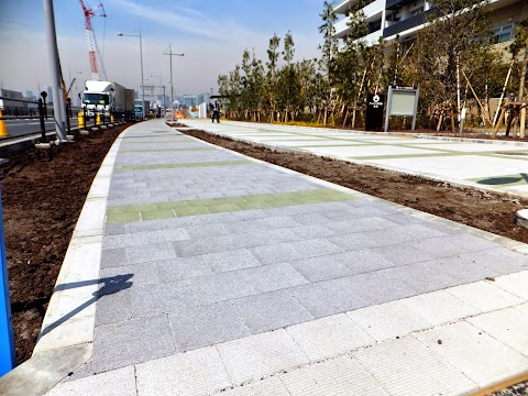 Tokyo Olympic Cycling Infrastructure. Is that it?