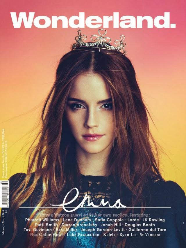 Emma Watson en Wonderland Magazine