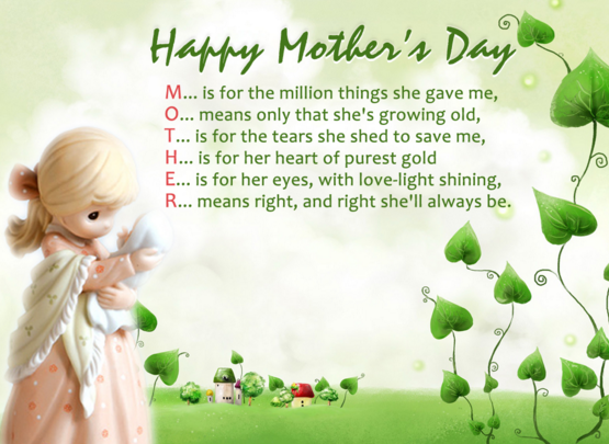Mothers Day SmsWishes Massages Wallpapers