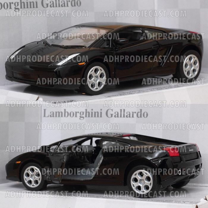 Miniatur Lamborghini Gallardo (Black-32K)