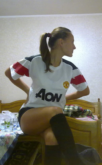 Diana Turcan - Manchester United Girl from Moldova