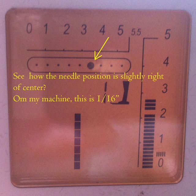 needle position