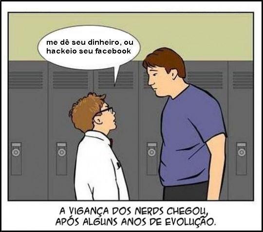 tirinha vingança nerd