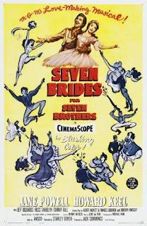 Ver Película Siete Novias Para Siete Hermanos Online Gratis (1954)