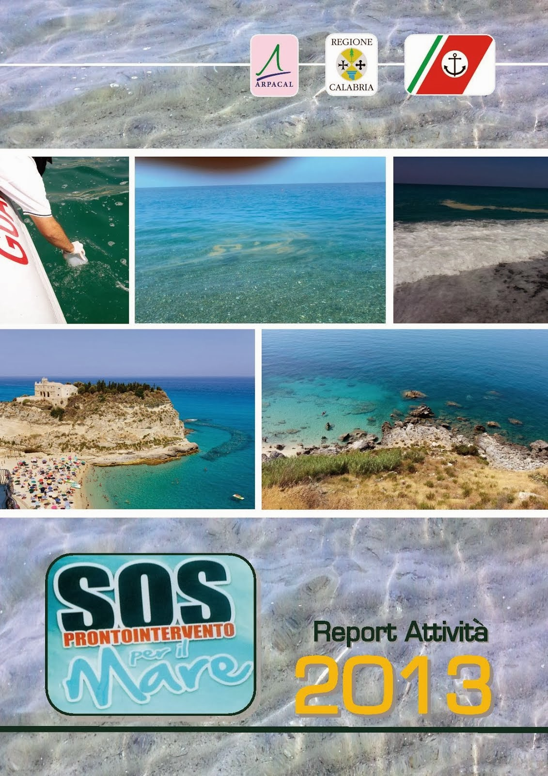 ARPACAL report SOS MARE 2013