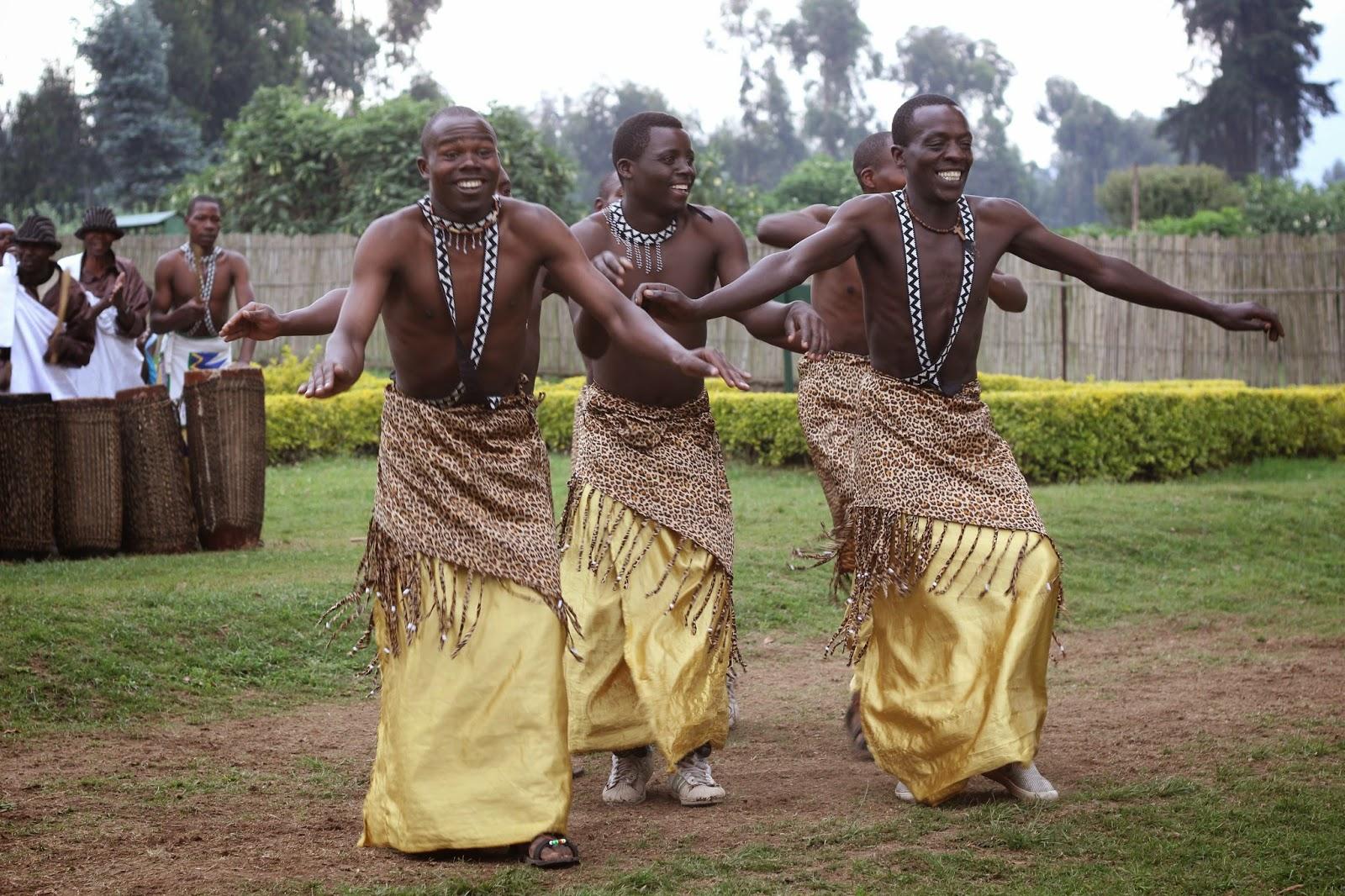 Rwandan dancing