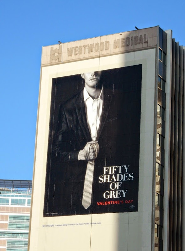Fifty Shades of Grey movie billboard