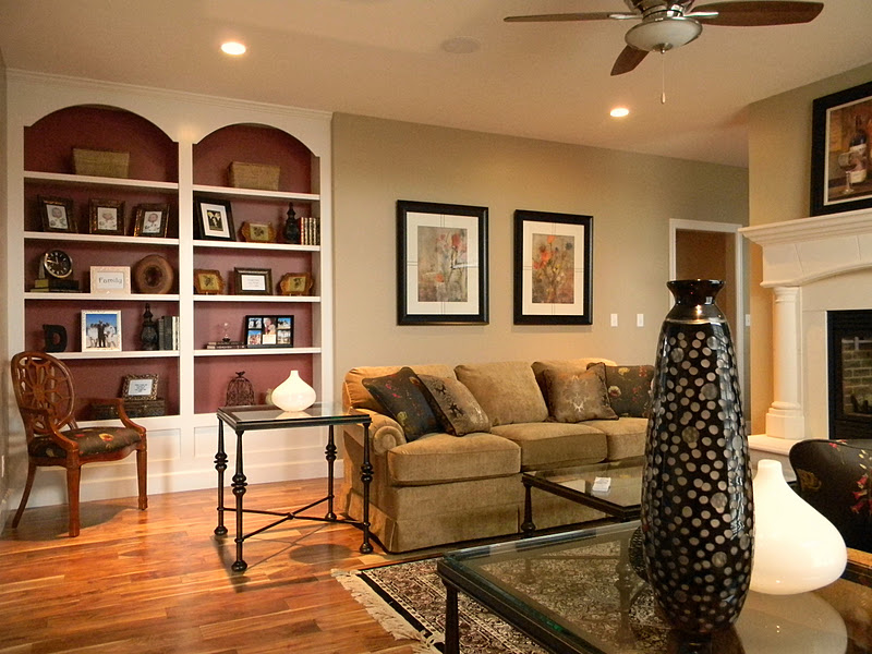 Forever decorating a client 39 s formal living room for Formal living room decorating ideas