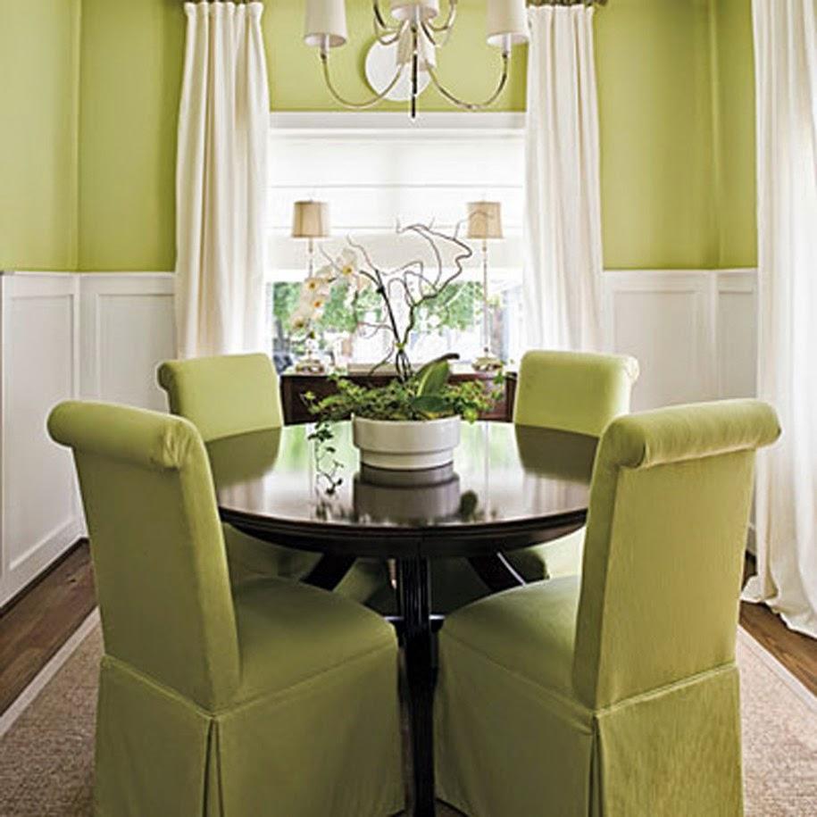 Tu organizas como decorar a mesa de jantar