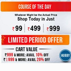 Snapdeal: Online Courses upto 80% off + upto 20% off