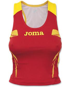 camiseta mujer atletismo competición