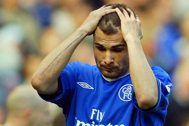 """Feeling Blue: Adrian Mutu had a """"difficult"""" end to his Chelsea career"""