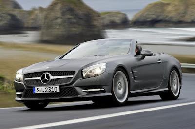 Mercedes SL R231 revealed