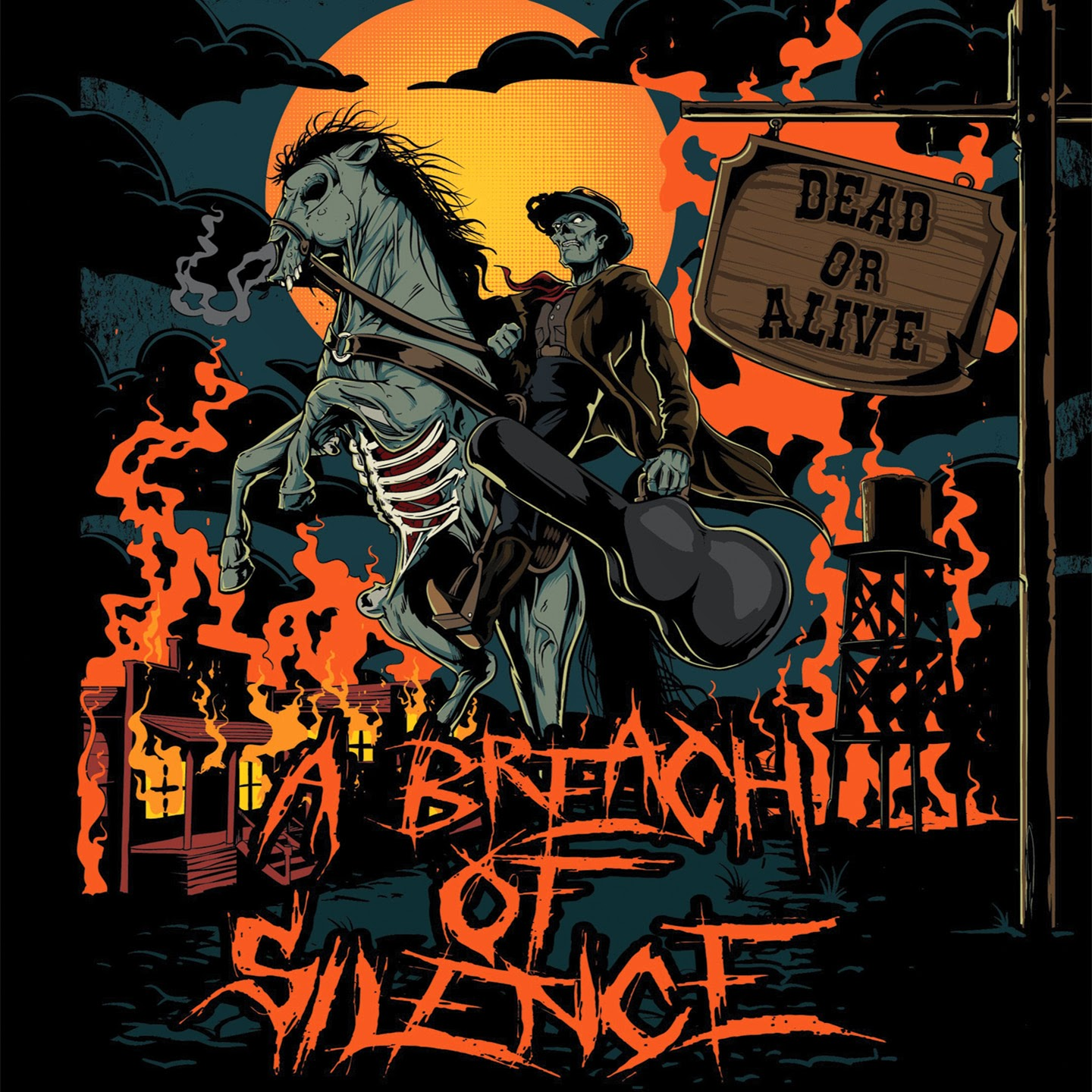 Rock Review Phil A Breach Of Silence Dead Or Alive