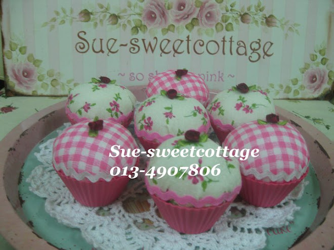 fabric cupcakes