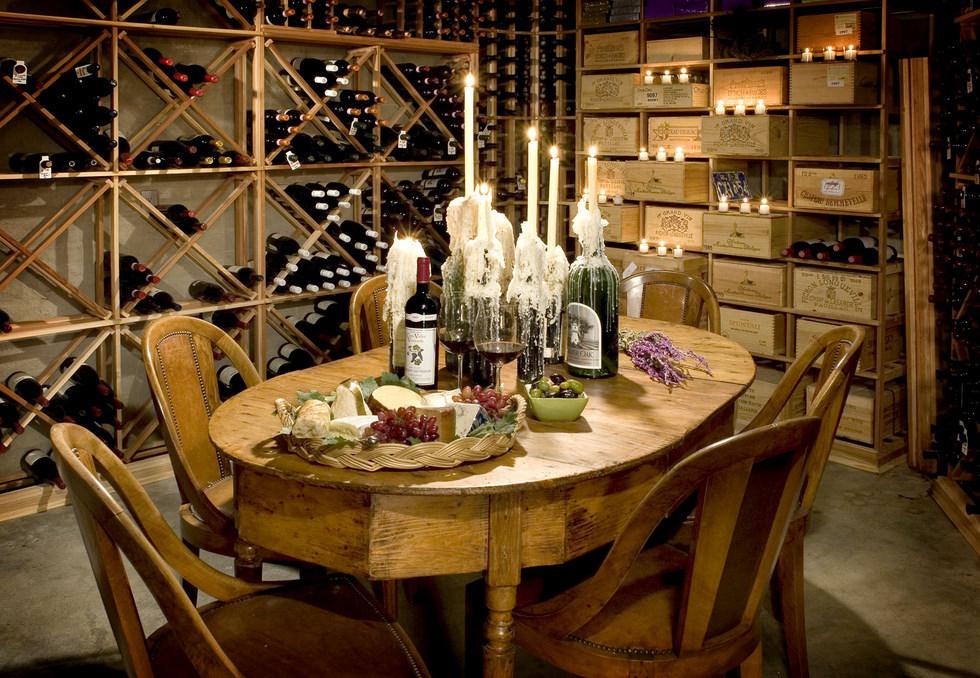 Dream Wine Cellar : Loveleigh treasures living the dream