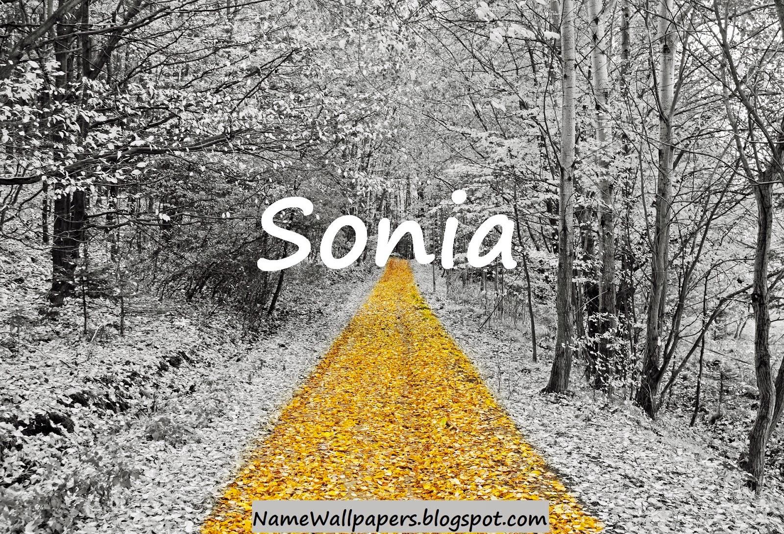 Sonia Name Wallpapers Sonia ~ Name Wallpaper Urdu Name ...