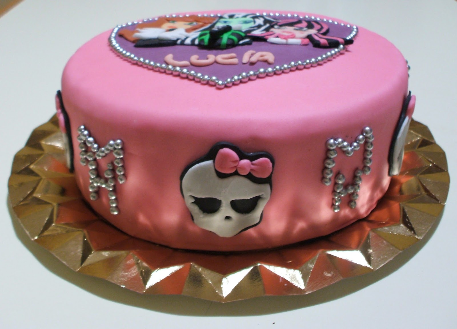Tortas de Monster High, parte 3