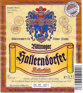 Brauerei Rittmayer/Hallerndorf: Kellerbier (Nr. 88)