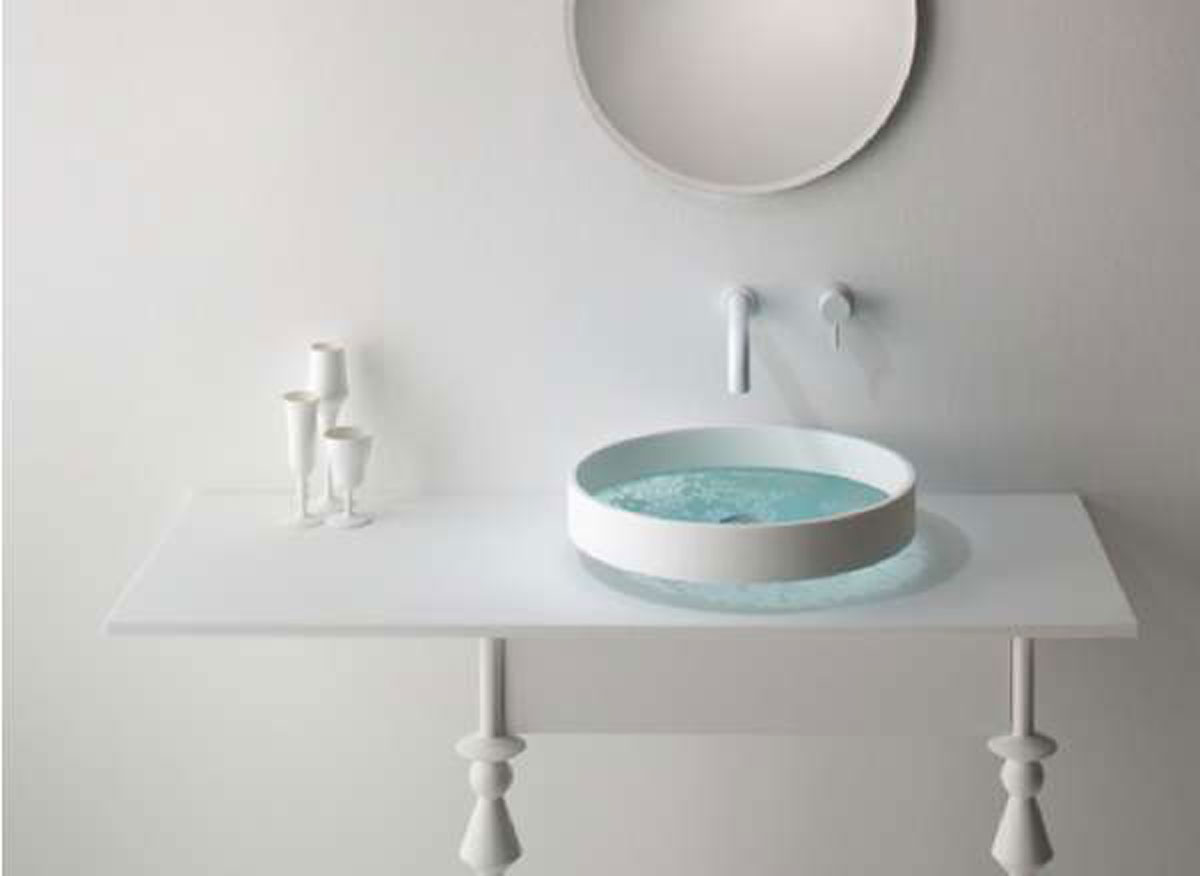 Modern Wash Basin Designs Aesthetic Nice Surface Painting