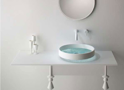 Nice White Round Basin Ideas