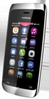Harga Nokia Asha 309 dan Spesifikasi | Bakul Gadget