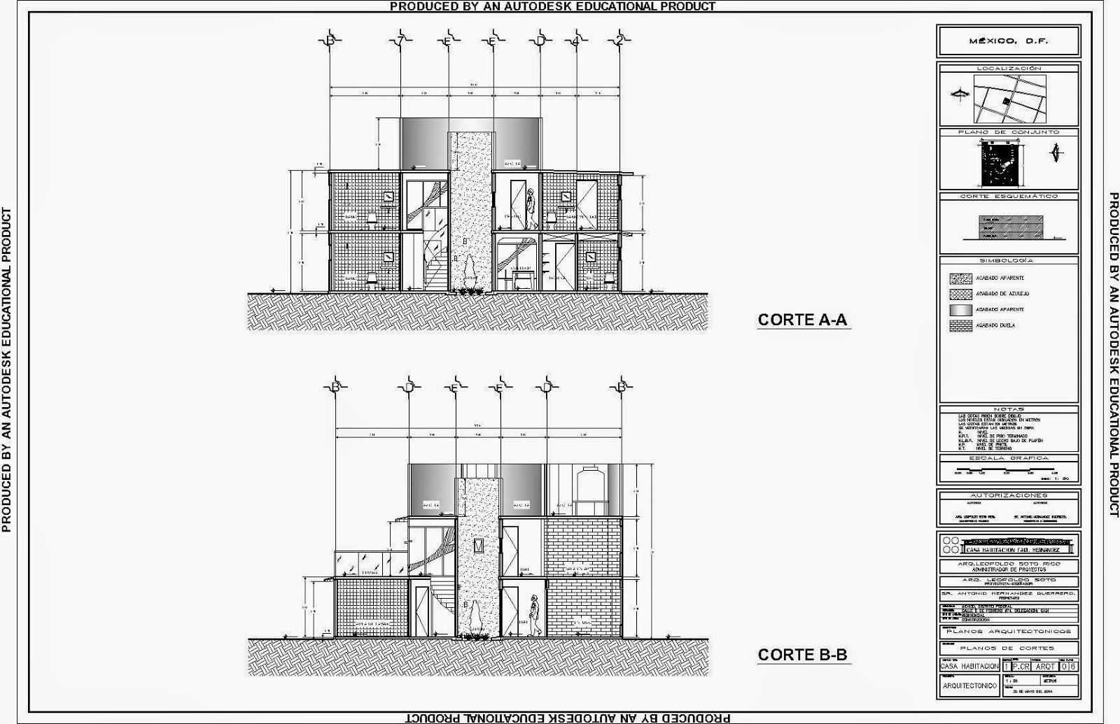 Carpeta trabajos realizados dise o proyecto casa - Plantas para habitacion ...