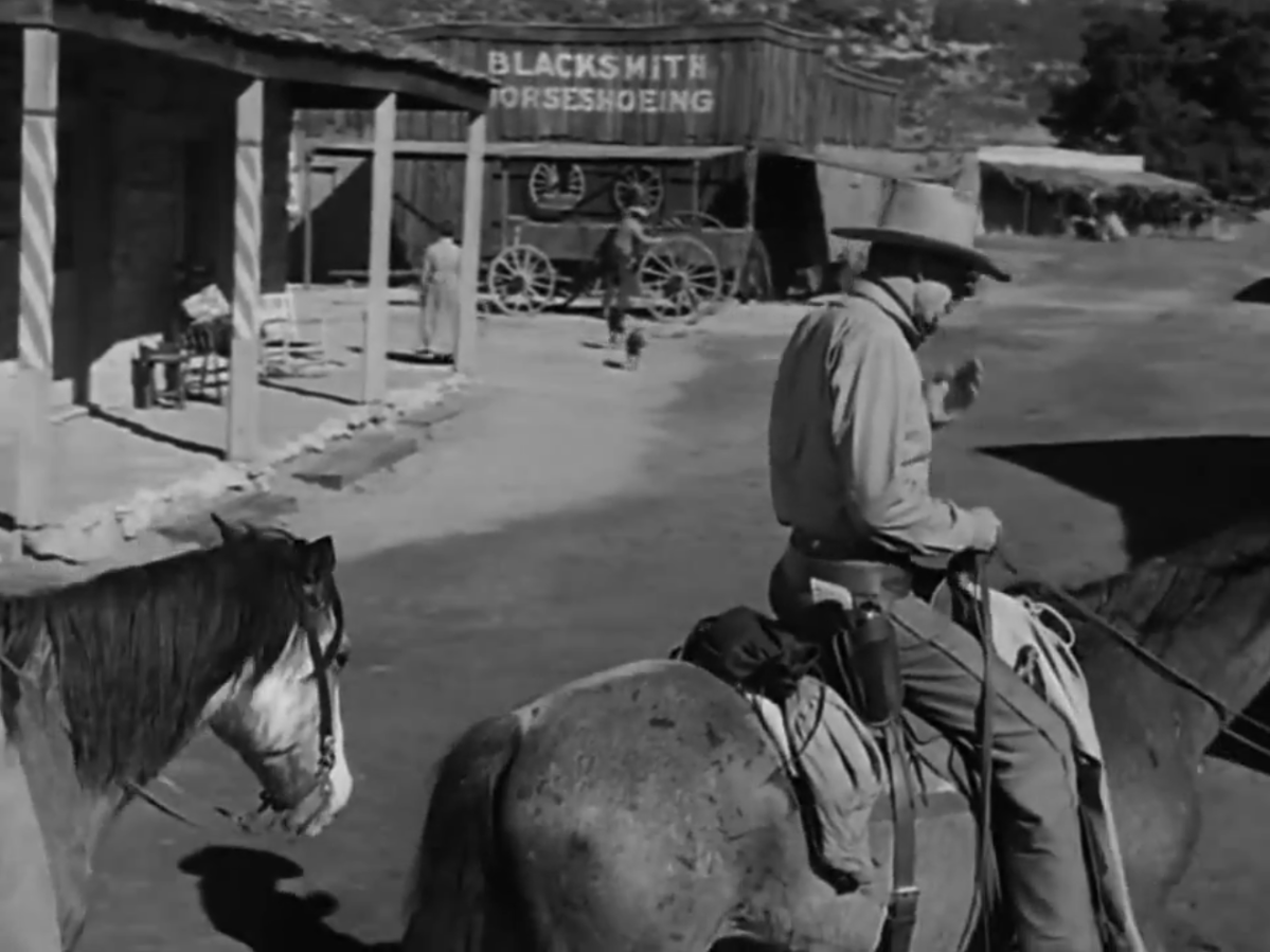 Barber Ranch : Heres another look at the Barber Shop, Blacksmith Shop and small ...