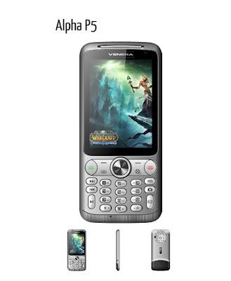Venera Prime Alpha 5 - Ponsel Dual SIM Layar Sentuh Keypad Unik - Berita Handphone