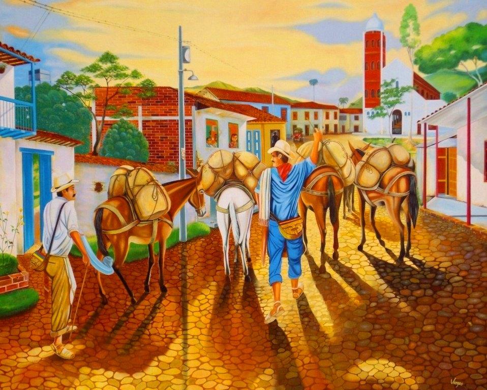 Im genes arte pinturas oleos paisajes coloridos - Fotos y cuadros ...