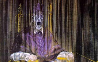 Study After Velazqueez's Portrait Of Innocent X - Francis Bacon