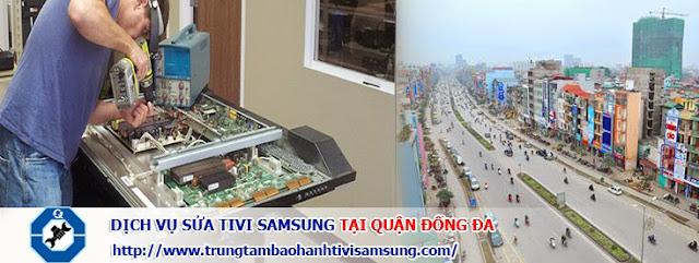 Sửa tivi SAMSUNG tại quận Đống Đa - Phục vụ 24/7
