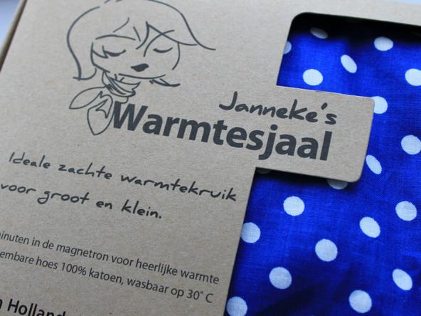 Janneke's warmtesjaal.