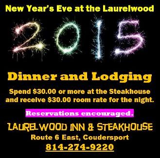 12-31 New Year's Eve At The Laurelwood