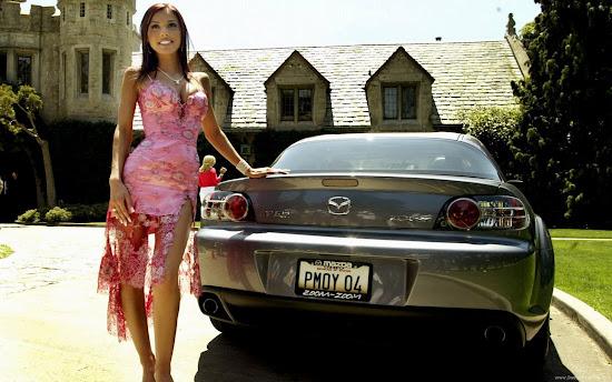 Model Carmella Decesare HD Wallpaper