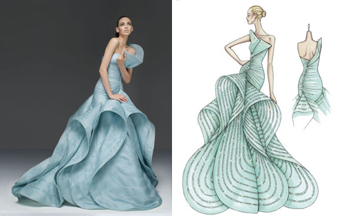Fashion PULIS: Rajo\'s Unique Wedding Gown: Inspired by VERSACE?