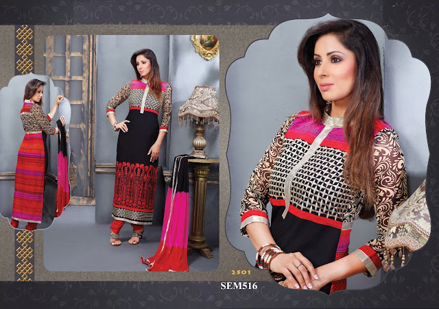 Sangeeta Ghosh In Embroidery Long Salwar Kameez