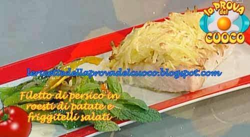 Filetto di persico in roesti di patate e friggitelli for Cucinare friggitelli