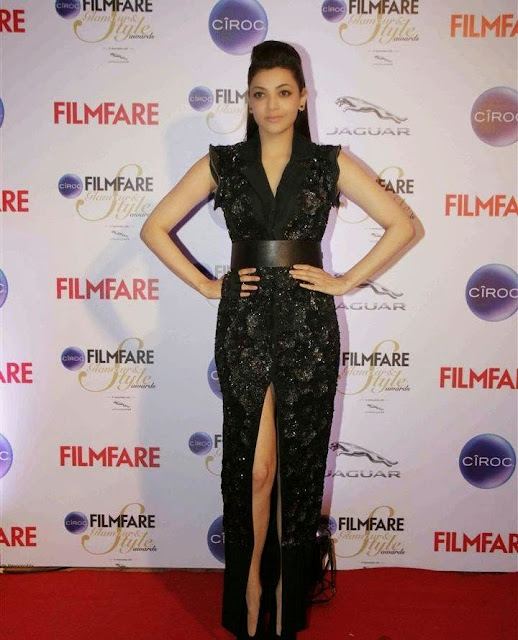 Kajal Aggarwal Stills At Ciroc Filmfare Galmour And Style Awards 2015