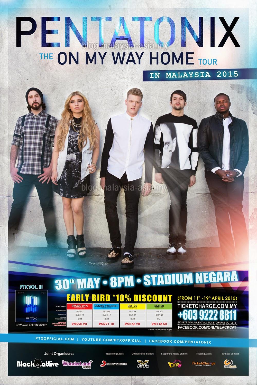 Pentatonix Live in Kuala Lumpur Malaysia