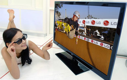 lg 1 TV 3D na sua Sala!