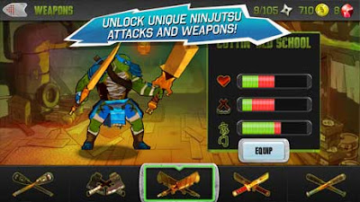 TMNT Brothers Unite V1.0.2 Apk + Mod For Android