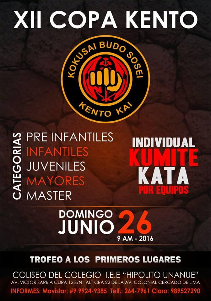 XII COPA KENTO Lima-Perù