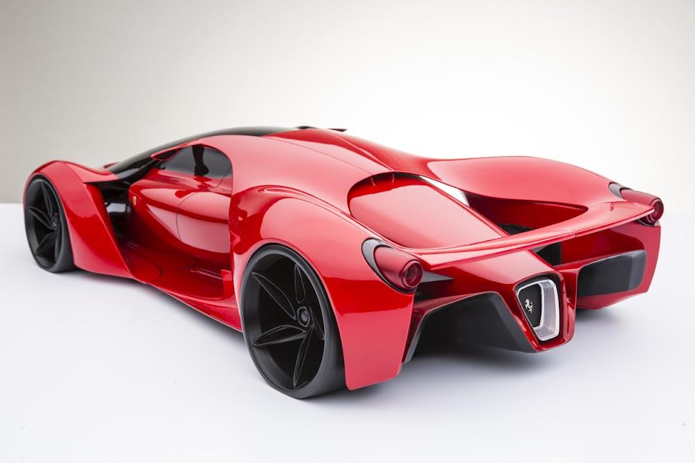 Ferrari F80 Güçlü Konseptiyle Geliyor