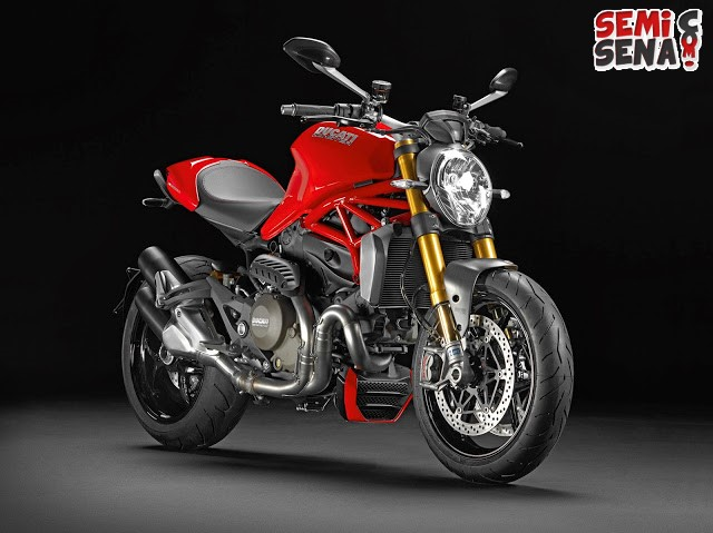Inilah Bocoran New Ducati Moster 1200 R