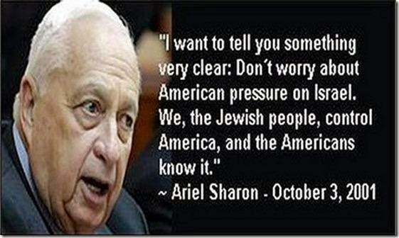 Israel styr USA