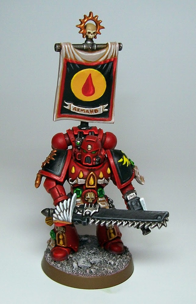 The Heralds of Ruin Painting and Gaming Blog: Painting Blood Angels Tactical Squad Tutorial